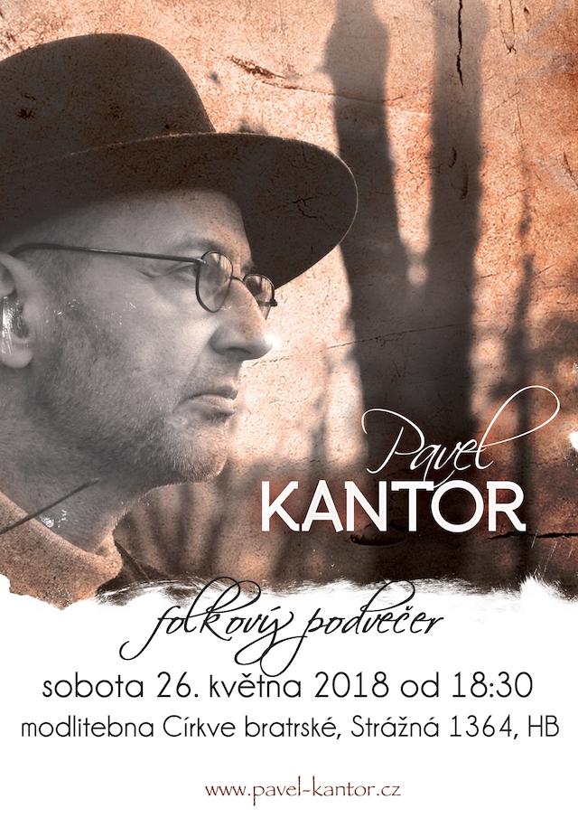 Havlíčkův Brod Kantor koncert plakát