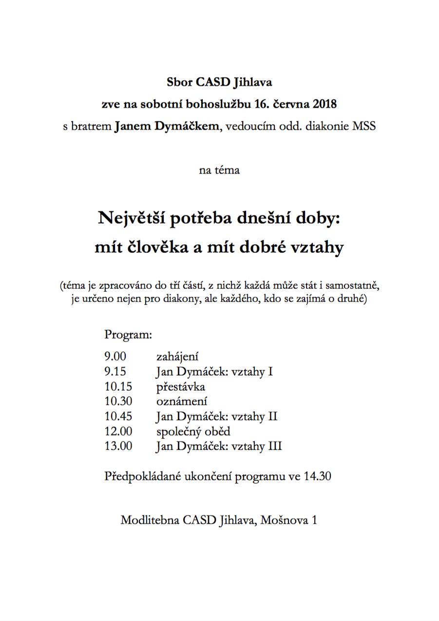 Jan Dymáček Jihlava